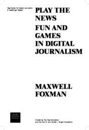 thumnail for PlayTheNews_Foxman_TowCenter.pdf