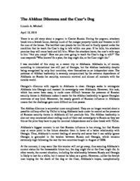 thumnail for The_Abkhaz_Dilemma_and_the_Czar_s_Dog.pdf
