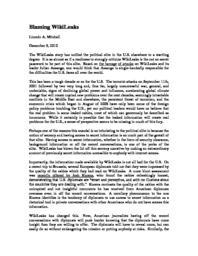 thumnail for Blaming_WikiLeaks.pdf