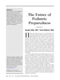 thumnail for Foltin_-_Future_of_Pediatric_Preparedness.pdf