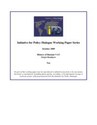 thumnail for IPD_WP_History_of_Russian_VAT.pdf