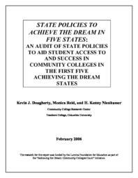 thumnail for Dougherty_-_State_Pol_to_Achieve_Dream_5_States_2-27-06.pdf