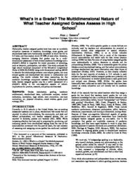 thumnail for Bowers_2011_-_Whats_in_a_grade_08.pdf