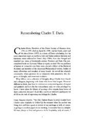 thumnail for 1998_Remembering_Charles_Davis.pdf