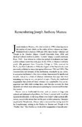 thumnail for 1998_Remembering_Joseph_Mazzeo.pdf
