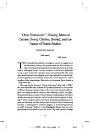 thumnail for 2009_Only_Historicize.pdf