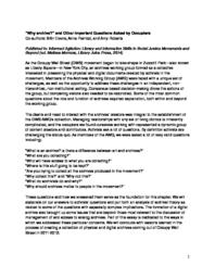 thumnail for Why_Archive-Perricci_Evans_Roberts-2014.pdf