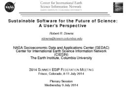 thumnail for DownsSustainableSoftwareFinal20140709.pdf