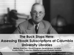 thumnail for Goertzen_Klahn_The_Buck_Stops_Here_Presentation.pdf