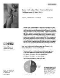 thumnail for Basic_Facts_about_Low-Income_Children__Children_Under_3_Years__2013.pdf
