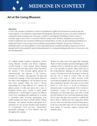 thumnail for cmr_Art_at_the_Living_Museum.pdf