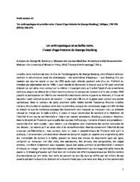 thumnail for Debaene-2013_Critique_Stocking.pdf