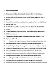 thumnail for 2014_Szilas_et_al._Geology_-_Comment_on_Jenner_et_al..pdf