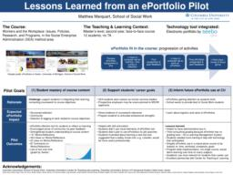 thumnail for Poster_Marquart_Lessons_Learned_from_ePortfolio_Pilot_3-2016.pdf