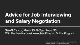 thumnail for Workshop_-_Advice_for_Job_Interviewing_and_Salary_Negotiation.pdf