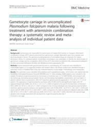 thumnail for WWARN_Gametocyte_Study_Group._BMC_Medicine__2016__14_79.pdf