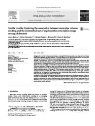 thumnail for Zahlan_Double trouble Exploring the association between waterpipe tobacco smoking and the nonmedical use of psychoactive prescription drugs among adolescents..pdf