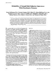 thumnail for Reliability of sexual risk behavior interviews with psychiatric patients.pdf