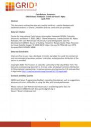 thumnail for Data Release Statement GRID3 GHA Settlement Extents V1 Alpha.pdf