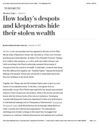 thumnail for How today's despots and kleptocrats hide their stolen wealth - The Washington Post.pdf