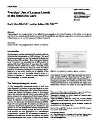 thumnail for Vink-2017-Practical Use of Lactate Levels in t.pdf