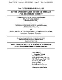 thumnail for Amicus_KF_PennsylvaniavTrump_3.27.19.pdf