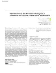 thumnail for Kristjansson et al. Implementación del Modelo Islandés para la Prevención - HPP 2020.pdf