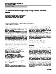 thumnail for Castaldelli_Use transition between illegal drugs among Brazilian university students.pdf