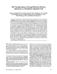 thumnail for HIV seroprevalence among homeless patients admitted to a psychiatric inpatient unit.pdf
