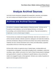 thumnail for Analyze Archival Sources.pdf