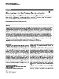 thumnail for De Backer-2018-Alternatives to the Swan-Ganz c.pdf