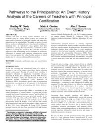 thumnail for Davis Gooden Bowers 2017 AERJ Pathways to the Principalship.pdf