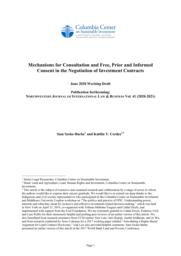 thumnail for Szoke-Burke-and-Cordes-Mechanisms-for-Consultation-and-FPIC-in-the-Negotiation-of-ISCs-2020.pdf