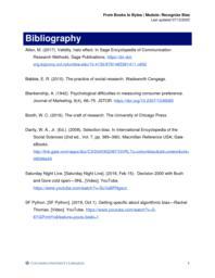 thumnail for Bibliography - Recognize Bias.pdf