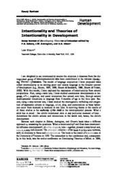 thumnail for Intentionality and Theories of Intentionality in Development.pdf