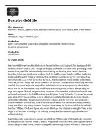 thumnail for deMille_WFPP.pdf