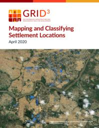 thumnail for Mapping and Classifying Settlement Locations 20200415.pdf