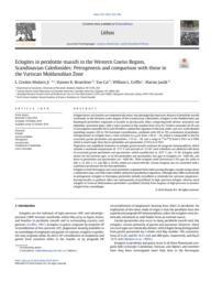 thumnail for Medaris et al. 2018 Norske Internal eclogites.pdf