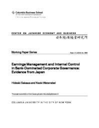 thumnail for WP 366 Sakawa Earnings Management.pdf