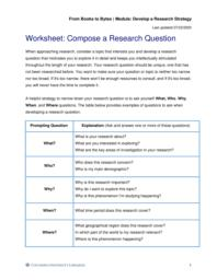 thumnail for Form Worksheet_ Compose a Research Question.pdf