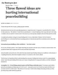 thumnail for Three flawed ideas are hurting international peacebuilding - The Washington Post.pdf