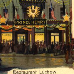 Restaurant Luchow Wahrend D...