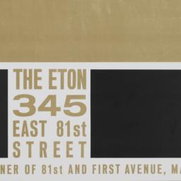 The     Eton, 345 East 81 S...