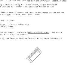Announcements, 2002-09-16. ...
