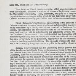 Response letter from Kirk t...