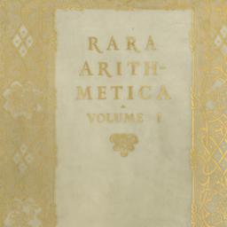 Rara arithmetica : a catalo...