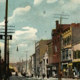 Street Scene, So. 4th Ave.,...