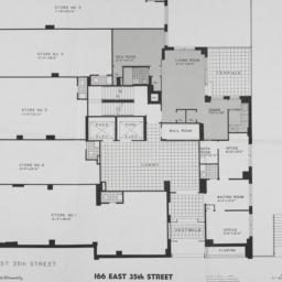 166 E. 35 Street, Plan Of S...