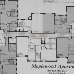Maplewood Apartments, 1877 ...