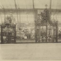 Wrought-iron gates and Germ...